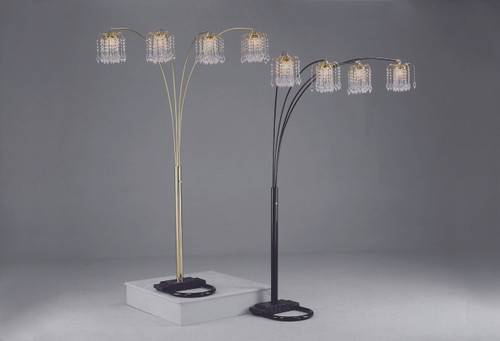 Rain Drop Arc Floor Lamp - 4893-ALL