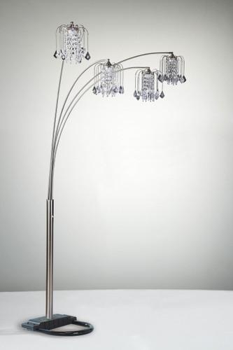 Rain Drop Arc Floor Lamp - 4893-ALL