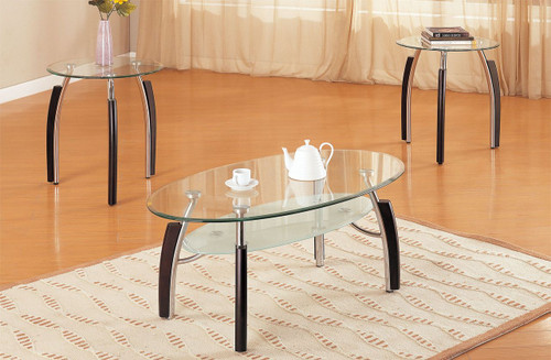 3PCS COFFEE END TABLE SET
