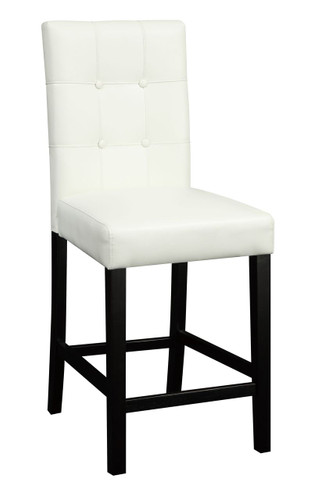 HIGH CHAIR/FAUX LEATHER-CREAM