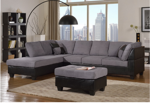 Sectional Sofa Gray