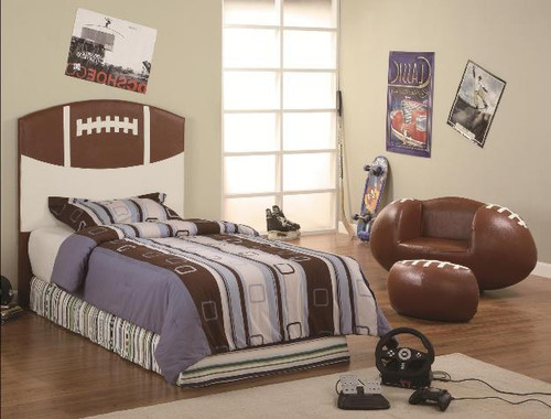 FOOTBALL TWIN HEADBOARD - 5003