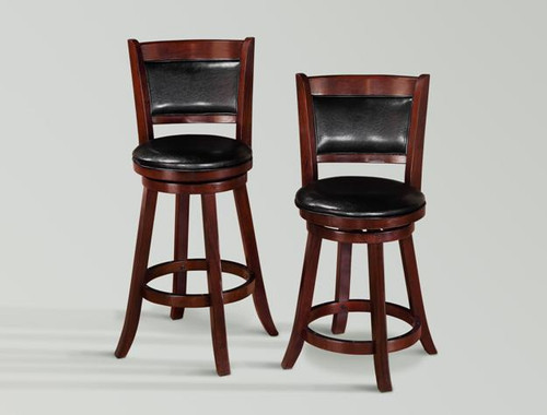 CECIL SWIVEL BAR OR PUB STOOL (SET OF 2) - 2798-2998