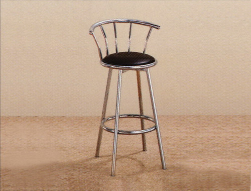"SWIVEL BAR STOOL 29"" CHROME (SET OF 2) - 4077-CH"