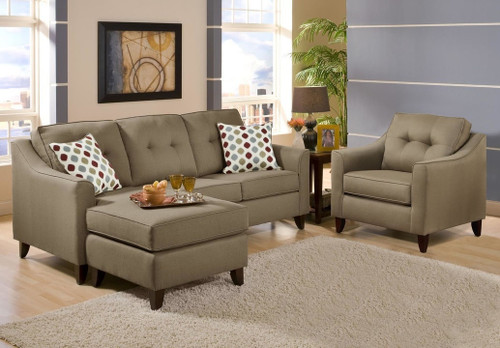 WASHINGTON REVERSIBLE CHAISE SOFA - 4743TR