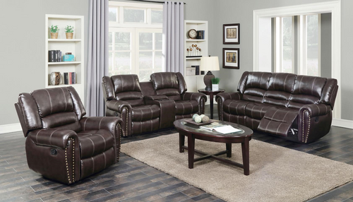 LEXINGTON 3PC MOTION LIVING ROOM (NAILHEAD) - LEXINGTONNA