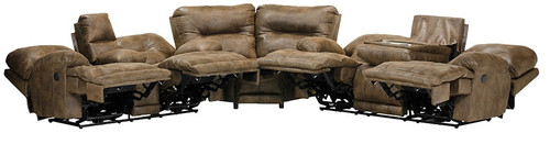 CATNAPPER VOYAGER SECTIONAL SOFA (ELK) - 438