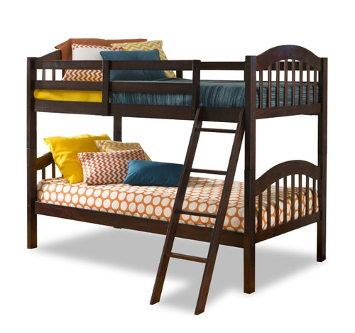 ESPRESSO TWIN OVER TWIN BUNKBED