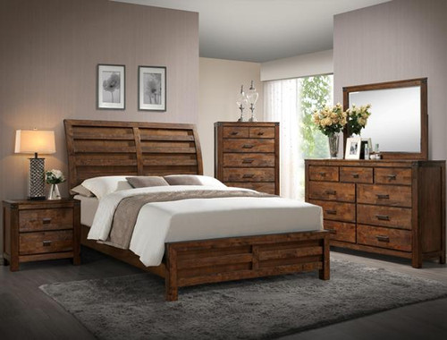 CURTIS COLLECTION COMPLETE BEDROOM SET