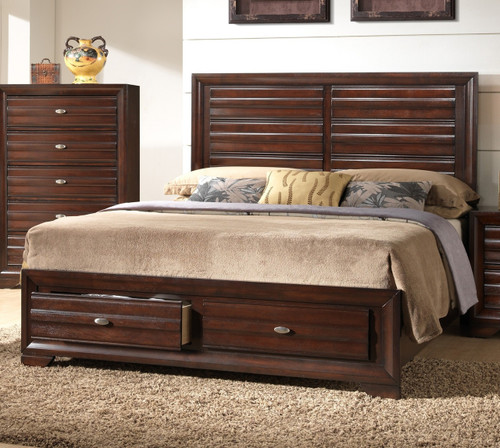 Stella Storage Queen Size Bed