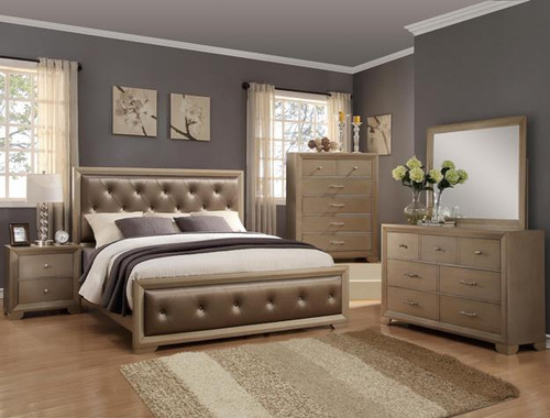 FONTAINE TUFTED COLLECTION BEDROOM SET - B1700SET
