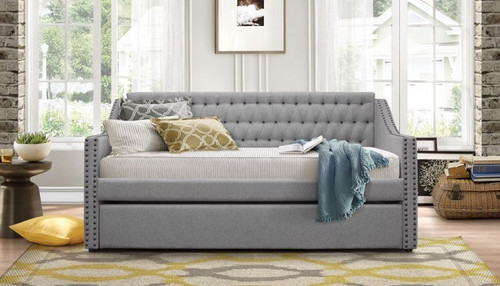 TULNEY COLLECTION DAYBED WITH TRUNDLE