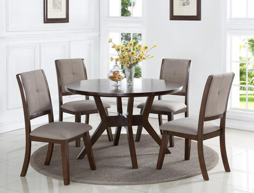 5PC BARNEY DINING TABLE TOP SET