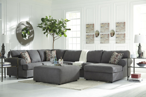 ASHLEY 2 PCS SECTIONAL - STEEL - 649ST