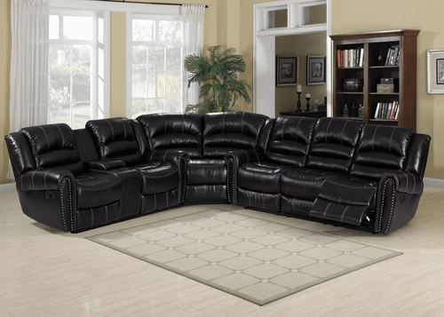 3PC Texas Sectional (Dark Espresso) - TEXAS 2