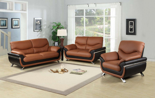 3PC JASON SOFA AND  LOVESEAT WITH CHAIR IN BROWN