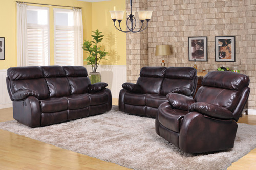 Mason 3 PC Sofa Loveseat And Recliner Set - GS2700