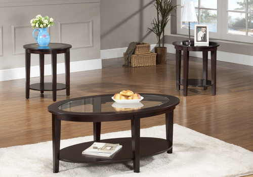 Christopher Coffee & End Table 3 PC Set - CT403-T