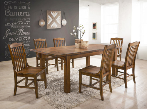 LUCILLE DINING TABLE TOP 5 PC Set - 2286