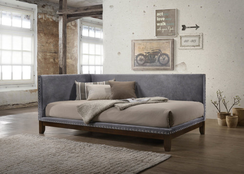 PAX NAILHEAD DAYBED GREY - 5330-GY