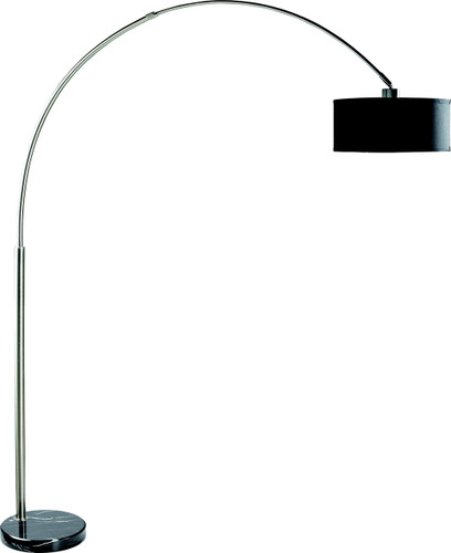 FLOOR LAMP BLACK - 6222F-BK