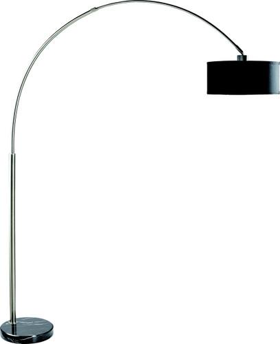 FLOOR LAMP BLACK - 6222F-BK