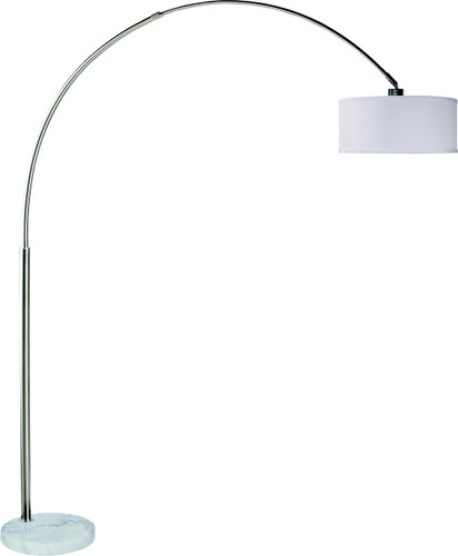 FLOOR LAMP WHITE-6222F-WH
