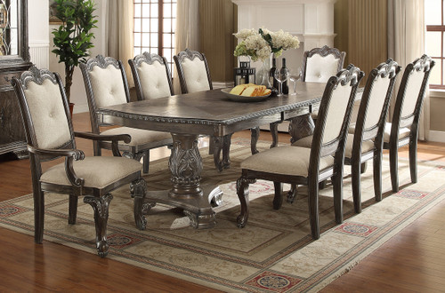 KIERA DINING TABLE GREY -2151T/44108/GY