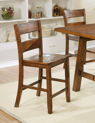 LORENZA COUNTER HEIGHT CHAIR 2 PCS SET-2796S/24