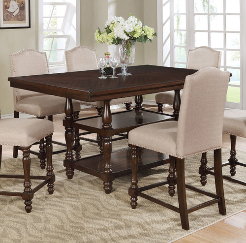 LANGLEY COUNTER HEIGHT TABLE-2766T/4266