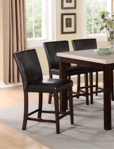 DOMINIC COUNTER HEIGHT CHAIR 2 PCS SET-2867S/24