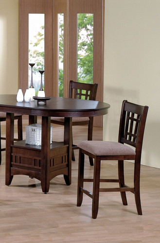 """EMPIRE COUNTER HEIGHT CHAIR 24""""H 2 PCS SET-2185S/N"""