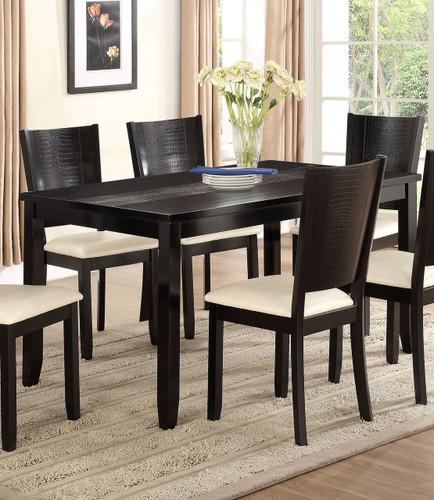"HANSON DINING TABLE: 36"" X 60"" X 30""H"
