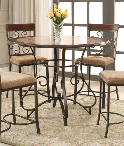 SARAH ROUND COUNTER HEIGHT TABLE-2811T/45