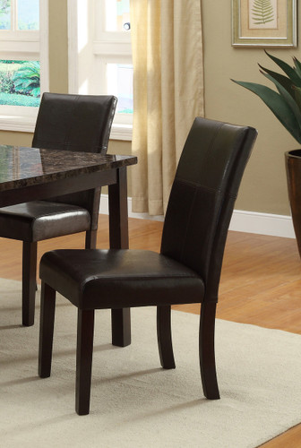 POMPEI SIDE CHAIR 2 PCS SET-2377/S