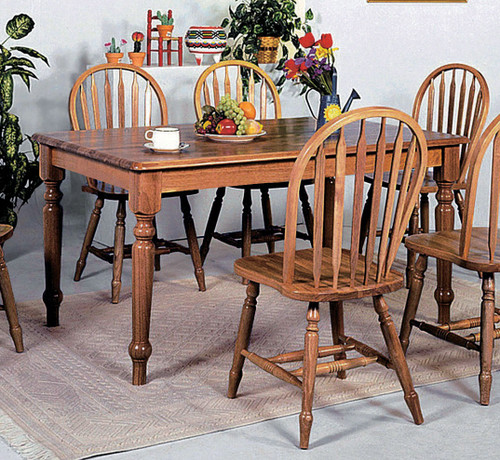 SOLID FARM HOUSE TABLE-1031D/OAK