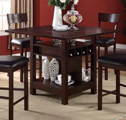ROSY BROWN COUNTER HEIGHT TABLE-F2347