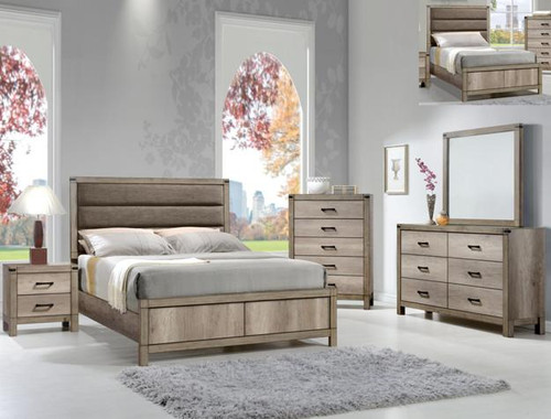 MATTEO COLLECTION COMPLETE BEDROOM SET