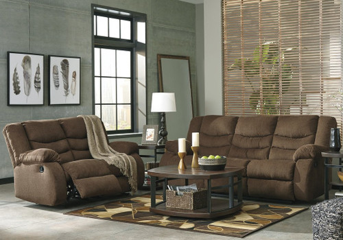 2PC TULEN SOFA AND LOVESEAT RECLINING SET (986