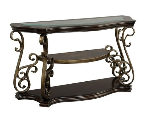 MARCO DARK BROWN SOFA TABLE-21931-SOFA