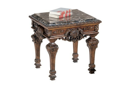 EMILY MARBLE TOP END TABLE-T953-END