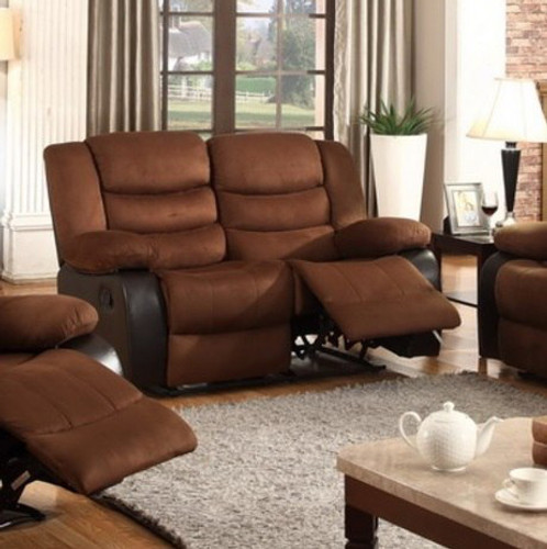 DAKOTA MICROFIBER RECLINER LOVESEAT-5388-LOVE
