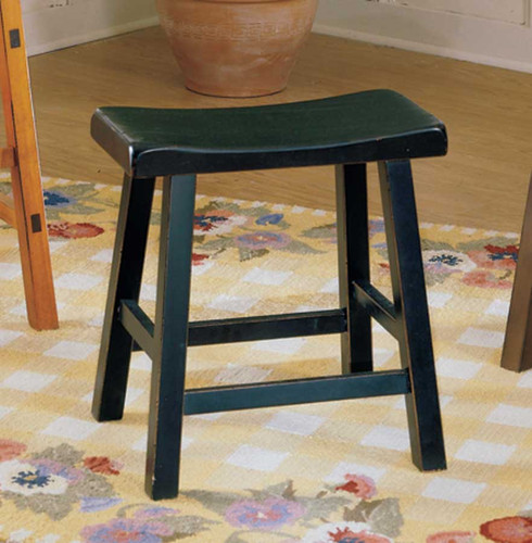 "SADDLEBACK 24""H STOOL BLACK-5302BK-24"