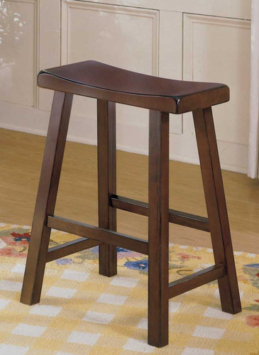"SADDLE BACK 29""H STOOL CHERRY-5302C-29"