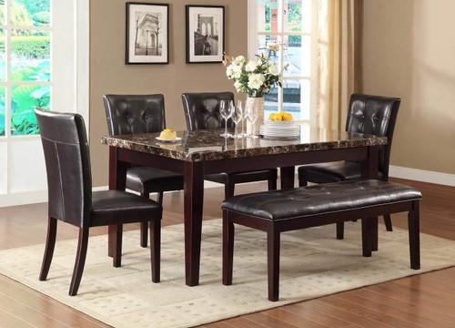 TEAGUE COLLECTION DINING TABLE 5 PCS SET-2544