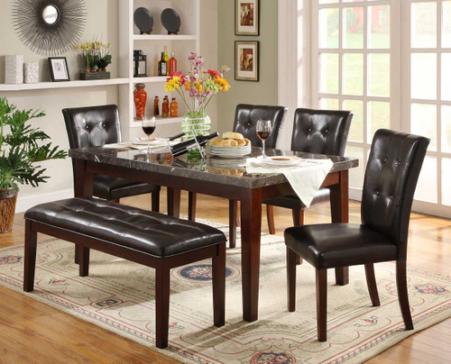 DECATUR COLLECTION DINING TABLE 5 PCS SET-2456