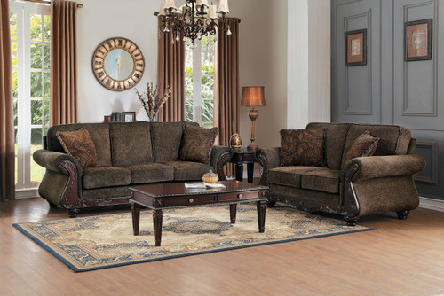 MANDEVILLE COLLECTION SOFA AND LOVE SEAT 2 PCS SET-8239