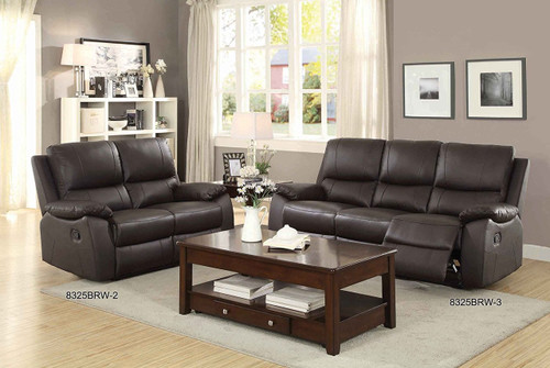 2PC GREELEY RECLINING SOFA AND LOVESEAT