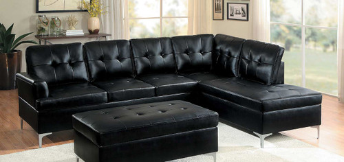 BARRINGTON SECTIONAL BLACK-8378BLK