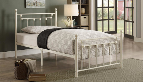 LIA COLLECTION METAL PLATFORM BED-2048TW